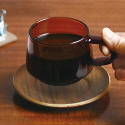 KINTOキントーSEPIAセピアマグ340ml【マグカップカップグラスガラス耐熱熱湯レンジ食洗機OKコーヒー紅茶おしゃれブランドシンプルレトロブラウンアンバーギフトプレゼント贈り物】