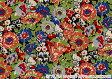 ハローキティ×リバティアートファブリック〜40TH ANNIVERSARY COLLECTION(40周年記念)〜LIBERTY つや消しラミネート(ビニールコーティング生地)<Haruka Daisy>(ハルカ・デイジー)MATLAMI-DC28394-J14C