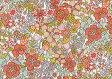 LIBERTYリバティプリント・国産つや消しラミネート(ビニールコーティング生地)<Flower Tops>(フラワー・トップス)MATLAMI3637188-17B