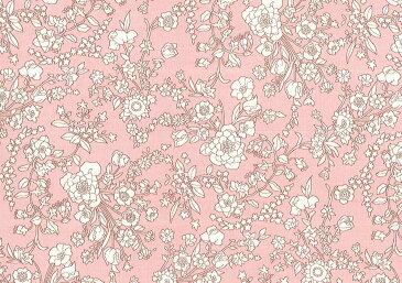 LIBERTYリバティプリント・国産ピカデリーポプリン生地(エターナル)<Summer Blooms>(サマー・ブルース)3637192BP
