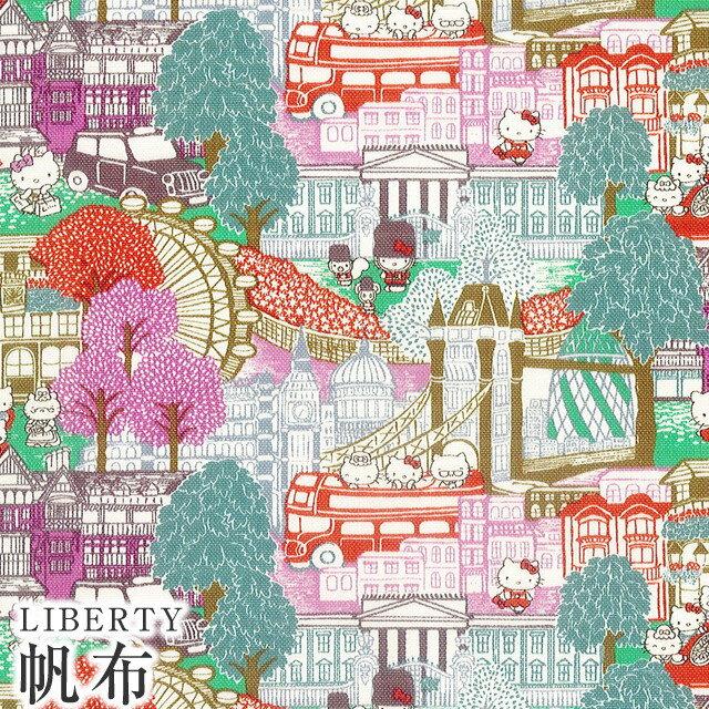 手芸・クラフト・生地, 生地・布  LIBERTY 11Capital Hello Kitty()DC27622-11BC