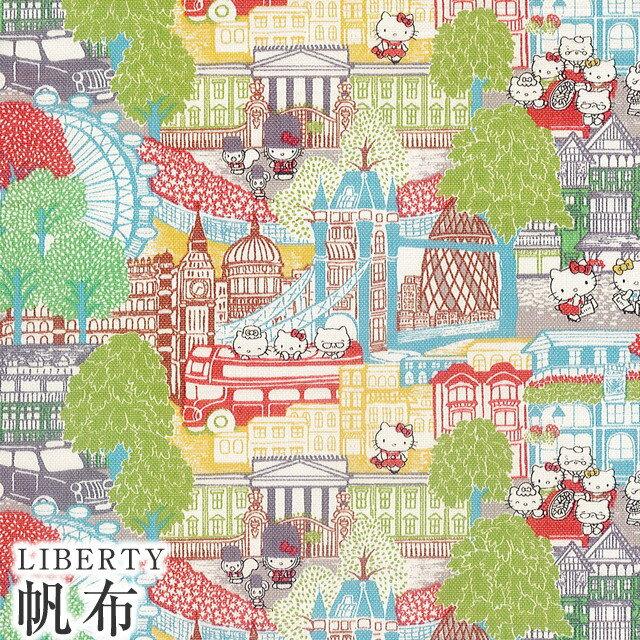 手芸・クラフト・生地, 生地・布  LIBERTY 11Capital Hello Kitty()DC27622-J20AC
