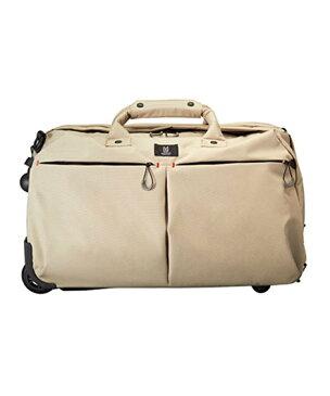 LIBERTYリバティプリントを使ったTROTダッフルキャリー(ベージュ) 3WAY仕様のボストン型ソフトキャリー スーツケース 44Lサイズ<Irma>(イルマ) MILESTO【MER001-BE】