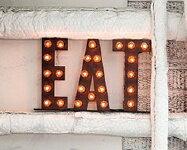 ARTWORKSTUDIO イートサイン EAT signV フロアーランプ フロアー ライト 床置照明 壁掛け照明【送料無料】