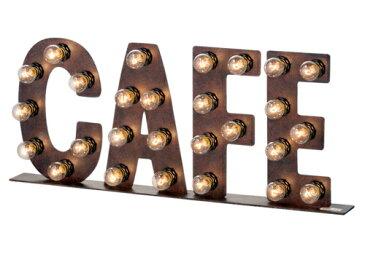 ARTWORKSTUDIO カフェサイン 電球付き Cafe sign フロアーランプ フロアー ライト 床置照明 壁掛け照明【送料無料】