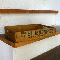 【アクシス/Homestead】ホームステッドアンティーク風ブルーベリーボックス【20100901_point_w02】