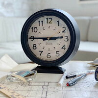 置き時計ボフミルクロッククロームダルトンDULTONブラックカーキK925-1256アンティーク風おしゃれ時計置き時計おしゃれレトロ