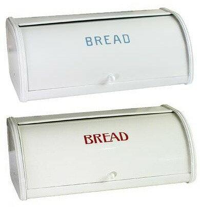 【アクシス/Homestead】ホームステッド ローラートップブレッド缶 L ブレッドビン ブレットケース ブルー レッド ブレッド缶【あす楽対応】
