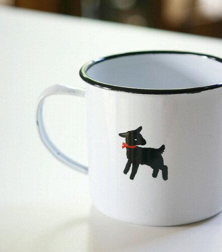 5.モノトーンのヤギがかわいい「フェイバリットマグカップ」