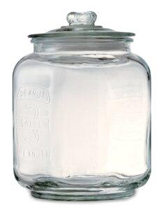 ピーナッツジャー NO.3 ガラスジャー アンティーク ガラス ガラス容器