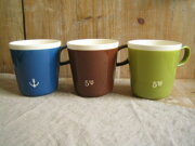 スタジオエム スタジオ コーヒーミルクマグカップ オレンジ マグカップ コーヒーマグ インテリア おしゃれ