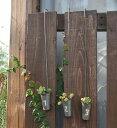 ティンハンギングポット 3個セット azi-azi アジアジ アンティーク風 壁掛けプランター ガーデン 雑貨 ハンギング ポット ガーデニング雑貨