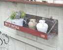 メタルプランター フォールディングワイドステップ アンティーク風 A azi-azi アジアジ 壁掛けプランター ガーデン 雑貨 ハンギング ガーデニング雑貨 ウォールラック 壁面 壁掛け