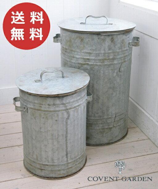 ロングバケット 2点セット コベントガーデン COVENT GARDEN バケツ アンティーク風【送料無料】 EZ-53