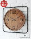 インダストリアル・クロック コベントガーデン COVENT GARDEN アンティーク調 時計 掛け時計 壁掛け時計 クロック【送料無料】 WQ-01