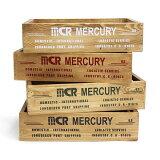 5%OFFクーポン配布中 mercury マーキュリー ウッドクレート ホワイト カーキ ブラック レッド 小物整理 木箱 収納 ボックス BOX ウッドボックス おしゃれ かわいい インテリア雑貨 ウッド 木製