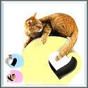 送料無料エイトラボAmourアムールパステルピンクパステルイエローパステルブルー猫用品お手入れ爪とぎ爪みがきおもちゃダンボールトンネル
