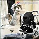 送料無料ペットカートエアバギーフォードッグドーム2SMサイズシリーズAirBuggyforDogペットバギー三輪折りたたみ多頭用小型犬中型犬ブラック