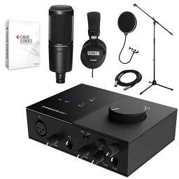 在庫あり【送料無料】Cubase Elements付き DTM入門セット KOMPLETE AUDIO 1 + audio-techncia AT2020 ボーカル録音に