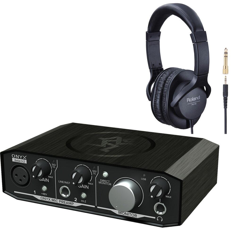 DAW・DTM・レコーダー, DTMセット Mackie Onyx Artist 12 Roland