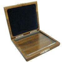 GALAX木製リードケースウォルナットB♭クラリネット6枚用/アルトサックス5枚用GC-W