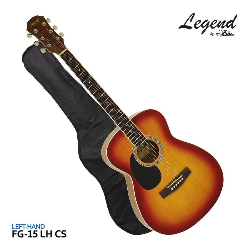 セット, アコースティックギターセット Legend FG-15 LH CS FG15