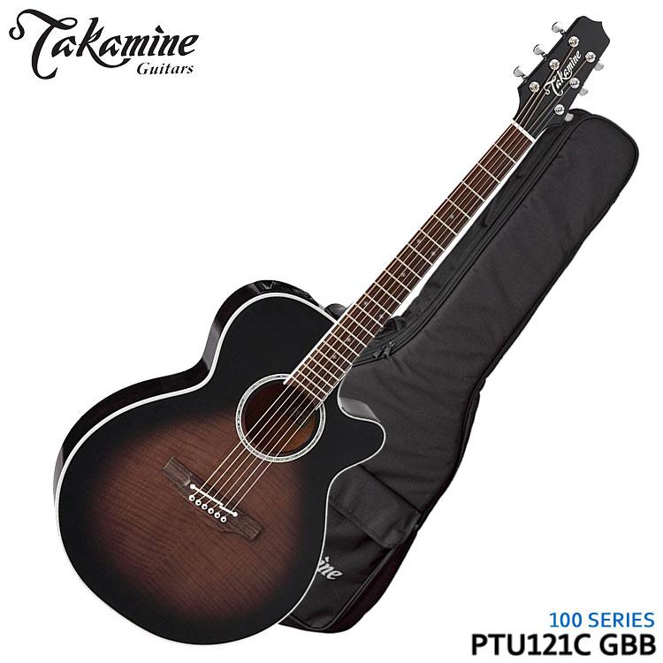ギター, エレアコギター TAKAMINE PTU121C GBB 100