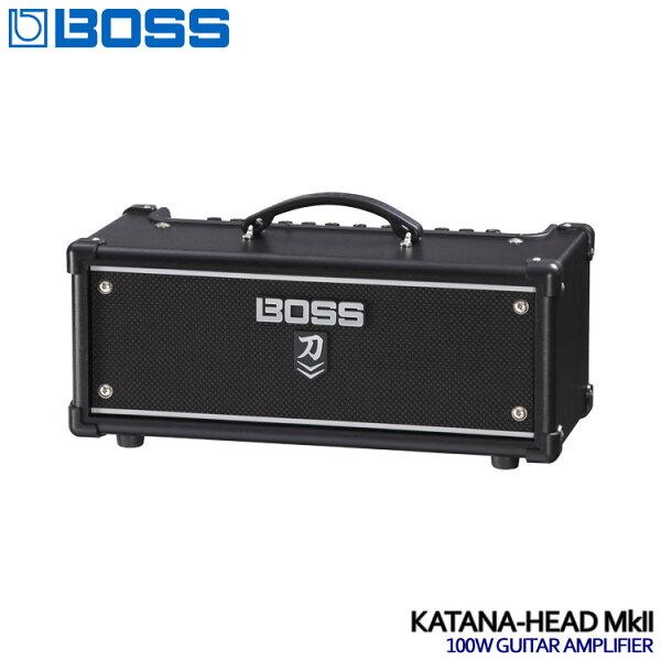 在庫あります  BOSSスピーカー内蔵ギターアンプヘッドKATANA-HEADMkIIボス刀KTN-HEAD2