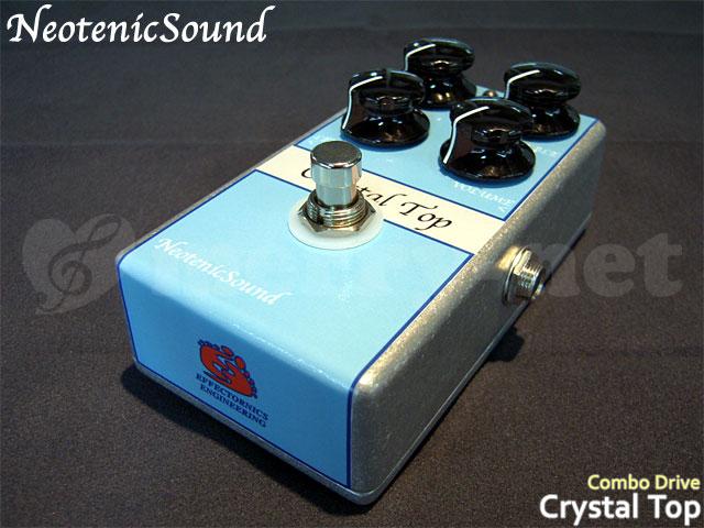 ギター用アクセサリー・パーツ, エフェクター NeotenicSound CrystalTop EFFECTORNICS ENGINEERING