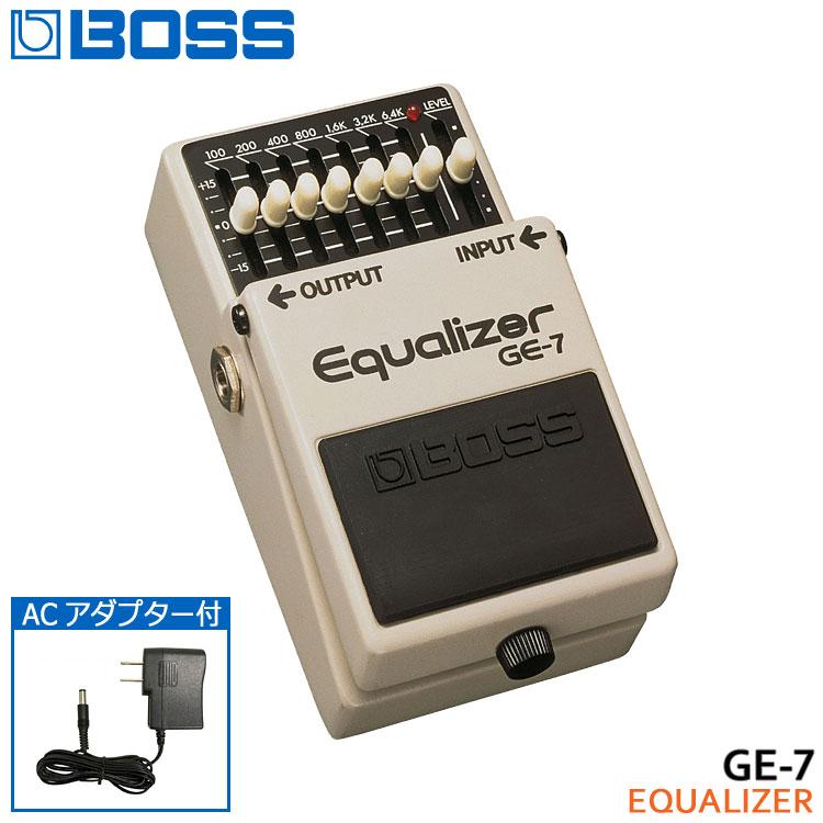ギター用アクセサリー・パーツ, エフェクター ACBOSS GE-7 Equalizer