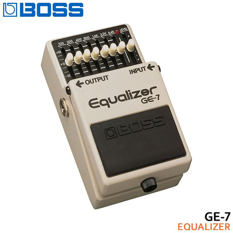 ギター用アクセサリー・パーツ, エフェクター BOSS GE-7 Equalizer