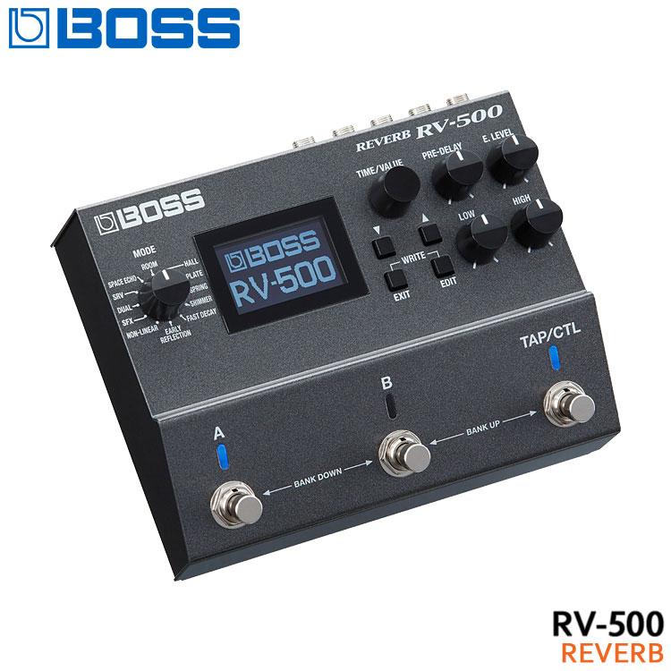 ギター用アクセサリー・パーツ, エフェクター 5BOSS RV-500 Reverb