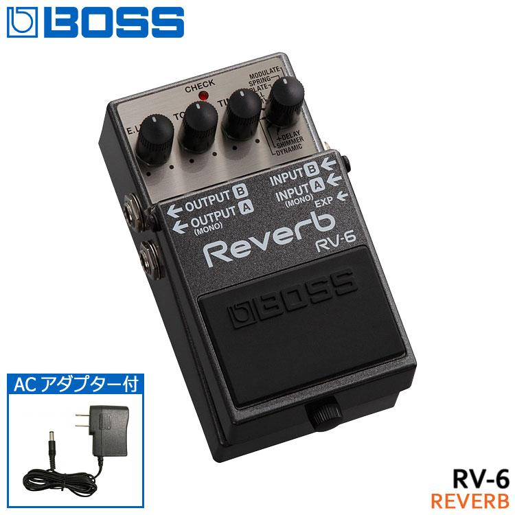 ギター用アクセサリー・パーツ, エフェクター 8ACBOSS RV-6 Reverb