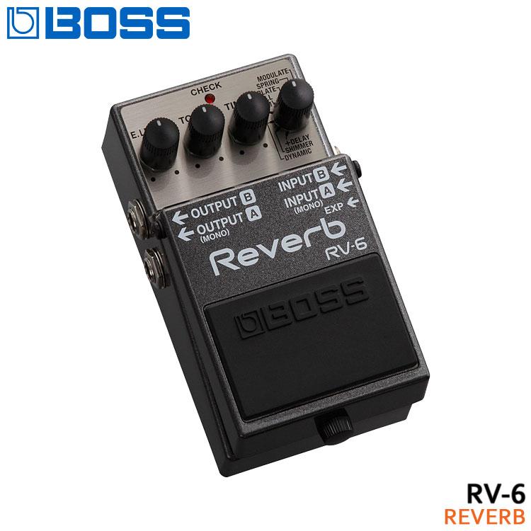ギター用アクセサリー・パーツ, エフェクター 10BOSS RV-6 Reverb