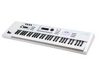 ローランド白いシンセサイザーJUNO-DS61/ホワイト(キーボードスタンド&キーボードイス付き)スターターセット