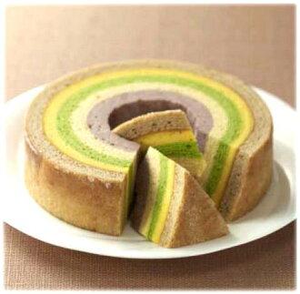 Noto Satoyama Goshiki-five layers (M size) Baumkuchen