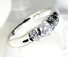 pt900 ダイヤモンドリング【一粒タイプ】:Me RIZE