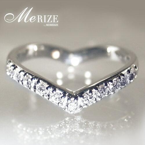 """pt900 ダイヤ ハート エタニティ リング プラチナ """"Eternal Love"""" - 女性ならば誰もが憧れる エタニティリング をさりげないハートシェイプへ。プラチナ900 、 ダイヤモンド の上質素材、大人かわいいデザインは想いを伝えるプレゼントにも最適。:Me RIZE"""