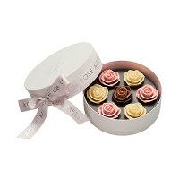 薔薇 バラ チョコ ギフト 贈り物 ホワイトデー 誕生日 お祝い お礼 お返し 結婚 手土産 綺麗 おしゃれ かわいい メサージュ・ド・ローズ ソニア・ル・ブーケ Mロゼ&ブラン