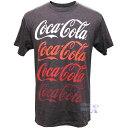 【米国コカコーラ公式Tシャツ】メンズ/チャコール