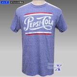 【米国ペプシ公式Tシャツ】メンズ/ヒースブルー