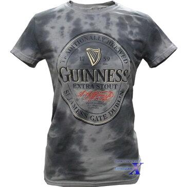 ギネスビール公式レディースTシャツ(グレーダイ)