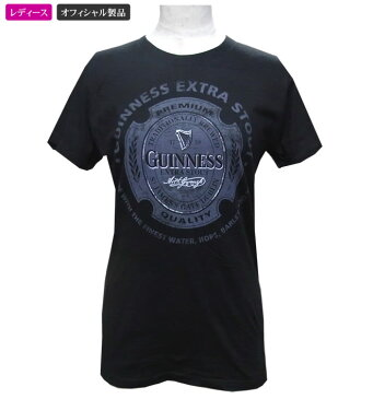 ギネスビール公式レディースTシャツ(エキストラBK)