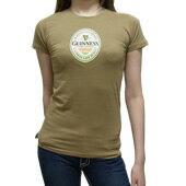 ギネスビール公式レディースTシャツ(エクストラ・スタウト)