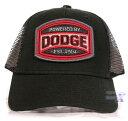 【Dodge ドッジ ダッジ 米国公式製品】帽子・キャップ (ブラック)