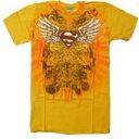 【DCコミックオフィシャル】スーパーマン・メンズTシャツオレンジ 【YDKG-tk】