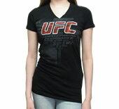 UFCレディースVネックTシャツ