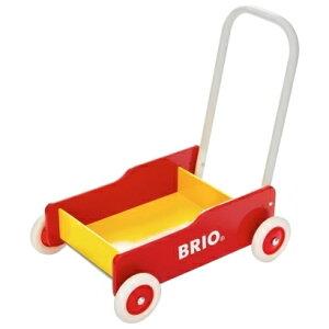 【メール便不可】【同梱不可】BRIO (ブリオ) 手押し車 大好きなおもちゃを積んで歩行練習♪...