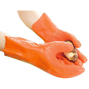 【メール便不可】簡単皮むきグローブ ムッキーグローブをはめてこするだけ!野菜の皮むきが簡...