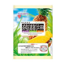 【メール便不可】マンナンライフ 蒟蒻畑 パイナップル味!ぷるんとおいしいこんにゃくゼリー♪...